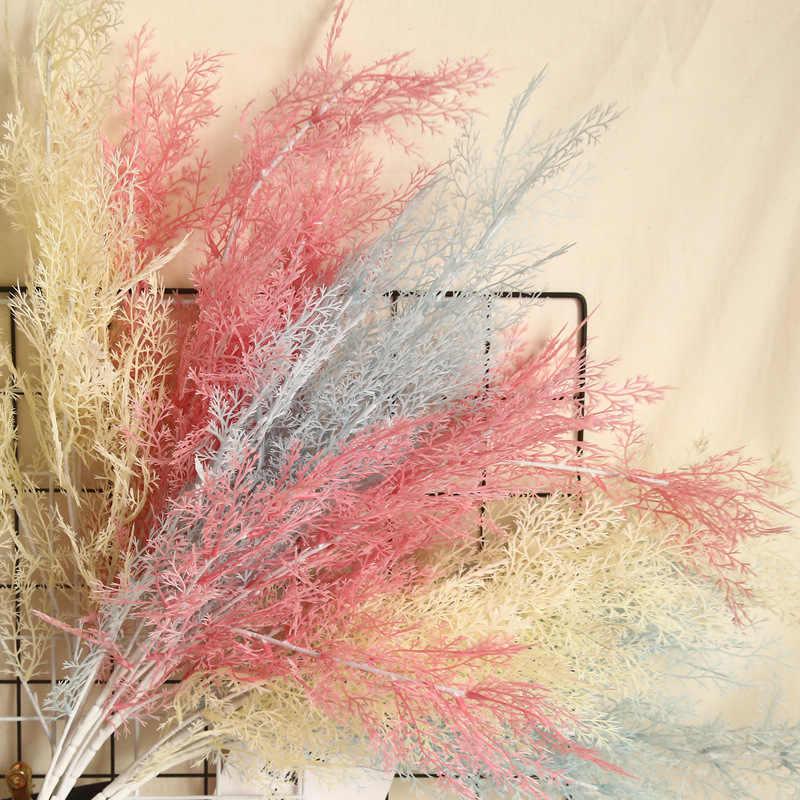 Plante artificielle pour mariage, 3 pièces, 97CM, décoration de maison, accessoires d'arbre en plastique, fausses fleurs pour arc de mariage, bricolage