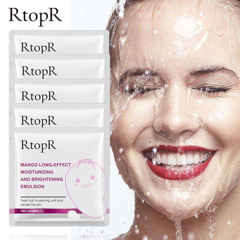 5PCS Mango Anti-Aging Whitening Anti-wrinkle Bright Skin Emulsion Double Care Nourishing  Face Cream  Acne Treatment Skin Care