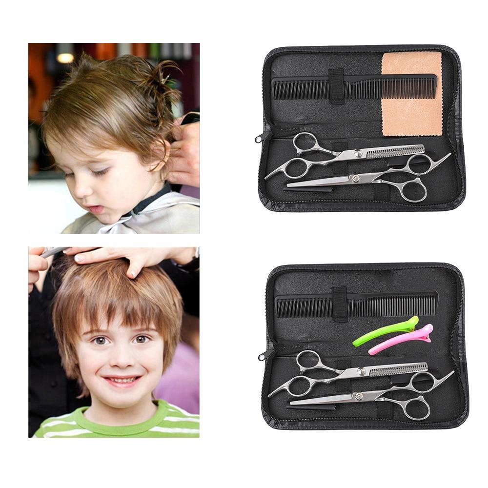 Profesyonel 6 inç saç Makas kesim saç kesme Salon Makas Makas berber inceltme makasları kuaförlük Makas güzellik araçları