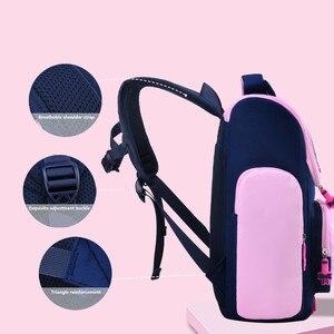 Image 4 - OKKID children school bags for girls cute waterproof animal backpack schoolbag kids pink book bag elementary school backpack