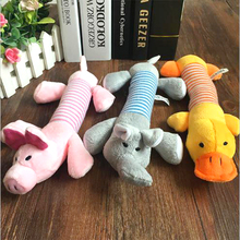 Toy Pig-Chew-Toys Sound-Dog-Toys Molar Squeak Plush Funny Durability All-Pets Duck Pet-Dog-Cat
