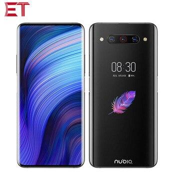 Перейти на Алиэкспресс и купить Версия ЕС ZTE Nubia Z20 Dual SIM 4G мобильный телефон 8 ГБ ОЗУ 128 Гб ПЗУ Snapdragon855 + 6,42 дюйм1080x2340P двойной экран телефон Android 9,0