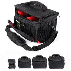 Full Size DSLR Camera Bag Mini Card Digital Lens Pouch Bag Cameras Case Waterproof Shoulder Bag For Canon Nikon Sony A6000