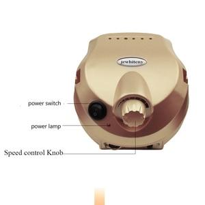 Image 2 - Perceuse à ongles 20W 35000 tr/min Machine professionnelle appareil pour manucure pédicure Kit lime électrique avec Cutter Nail Art outil