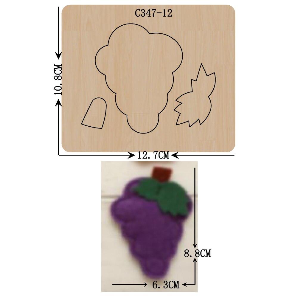 Новые деревянные штампы для скрапбукинга