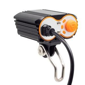 Image 2 - Onatura luz poderosa ebike 800 lúmen, 2 peças, t6 led 12v 24v farol elétrico de bicicleta de 36v