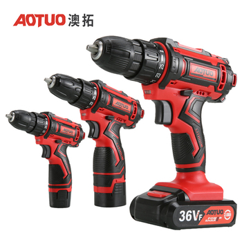 AOTUO Cordless Electric Screwdriver Lithium Battery Mini Two Speed Electric Drill Rechargeable Screwdriver Home DIY ElectricTool new arrive e3 mini rechargeable pen type electric cordless screwdriver drop shipping