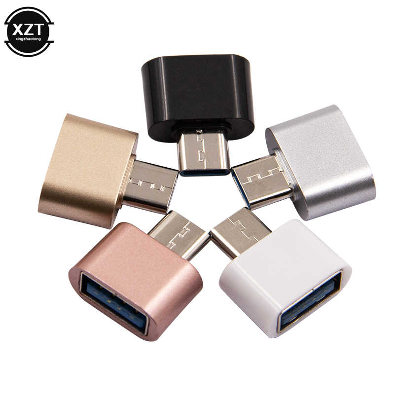 USB 3.0 タイプ C OTG ケーブルアダプタタイプ C USB-C Otg 変換 xiaomi Mi5 Mi6 Huawei 社サムスンマウスキーボード USB ディスクフラッシュ