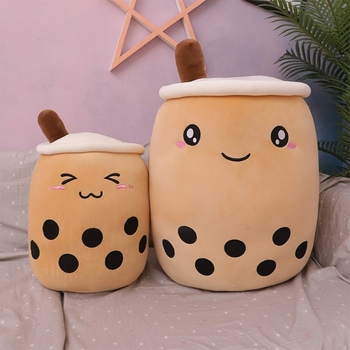 100pcs lot 35cm 14 kawaii smiley emoji plush pillow with zipper only skin without pp cotton soft cute toys cushion covers 098 Cute Soft Cartoon Bubble Tea Cup Plush Toys Filled with Fashionable Drinks Pillow Straw Cute Cushion Milk Tea Cup Pillow Plush