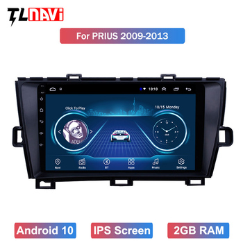 Android 10 For 1Toyota Prius 2009 2010 2011 2012 2013 Multimedia Stereo Car DVD Player Navigation GPS Radio image
