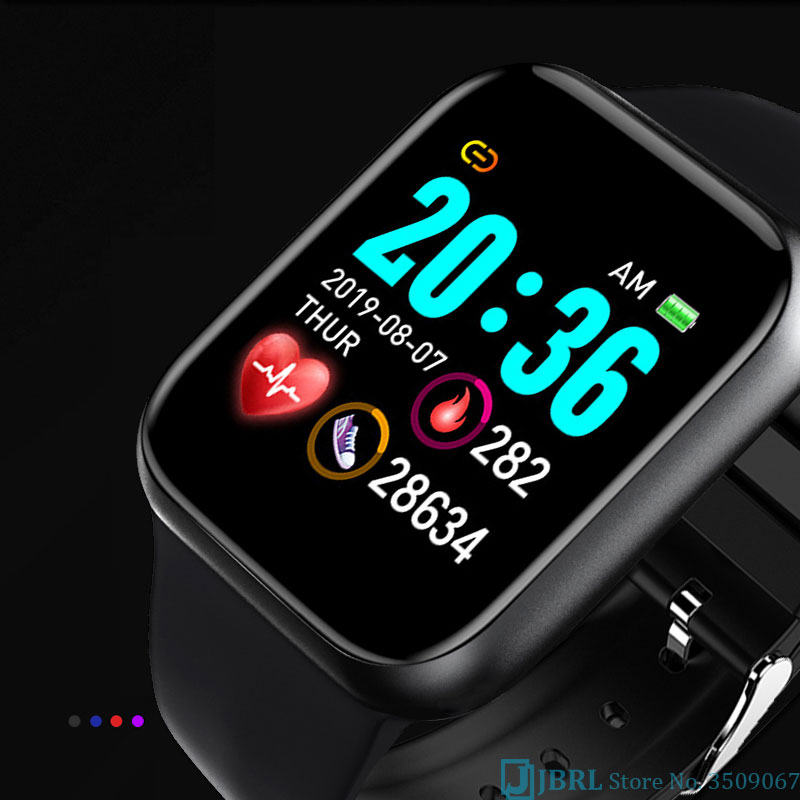 lowest price 2020 New Smart Watch Men Women Smartwatch For Android IOS Electronics Smart Clock Fitness Tracker Silicone Bluetooth Smart-watch