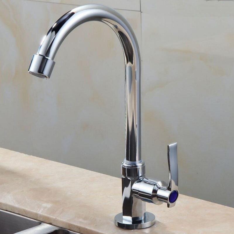 Best Price Cold Water Kitchen Sink Bathroom Faucets Pull Out Single Handle Hole Chrome Polished Finished Deck Mount Thermostatic Taps 32830592291
