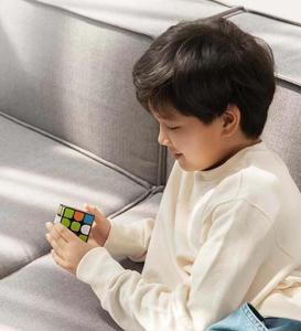 Image 5 - Oryginalny XIAOMI Bluetooth magiczna kostka inteligentne połączenie bramy 3x3x3 kwadratowa magnetyczna kostka łamigłówka edukacja naukowa zabawka prezent