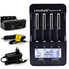 Liitokala lii-pd4 lii-s6 lii500s battery charger for 18650 26650 21700 18350 aa aaa 3.7v/3.2v/1.2v/1.5v lithium nimh battery