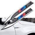 2 шт., наклейки-эмблемы для кузова автомобиля bmw X1 X3 X4 X5 X6 X7 E39 e46 E60 e90 f20 e60 f10