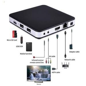 Image 3 - TVIP605Smart טלוויזיה תיבת Amlogic S905X אנדרואיד ו linux מערכת כפול Systerm 4K הטוב ביותר נורדי ממיר ו נורדי אחד חכם טלוויזיה תיבה