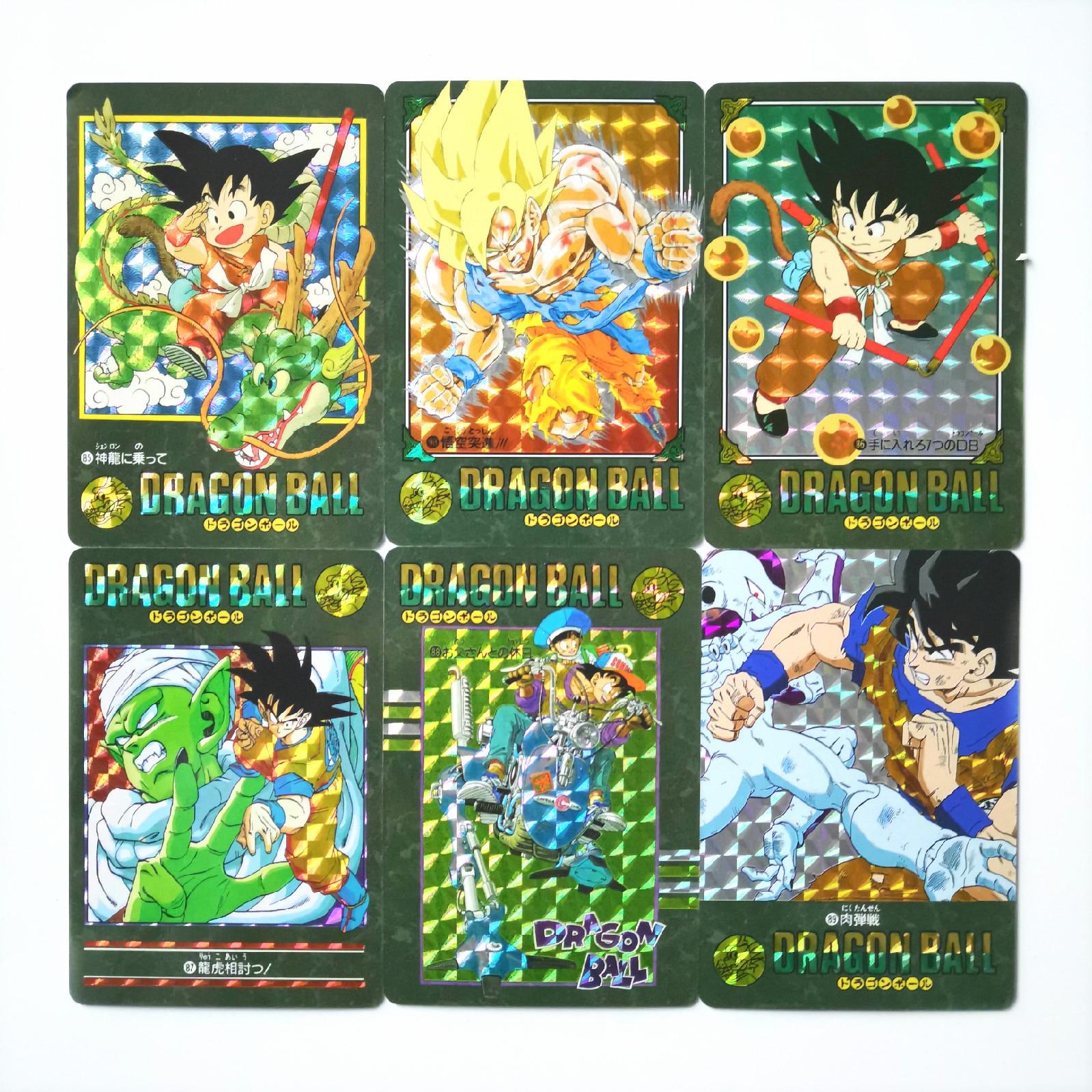 42pcs/set Super Dragon Ball Z Situation Reissue Third Bomb Heroes Battle Card Ultra Instinct Goku Vegeta Game Collection Cards