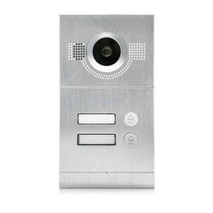 Image 5 - Homefong 7 אינץ Wifi וידאו דירות טלפון דלת וידאו אינטרקום מערכת פעמון עם 2 כפתור IP אלחוטי בקרת גישה מערכת