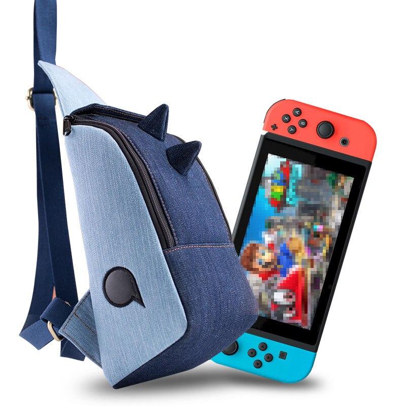 Switch sac de rangement étui de protection étanche coque de Cowboy avec 9 fentes pour cartes de jeu pour accessoires Swicth Lite