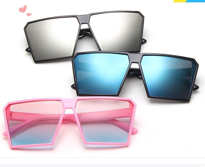 KLASSNUM 2019 gafas de sol cuadradas para niños 2019 nuevo diseño estilo Punk gafas de verano para bebés niños lindos gafas para niñas