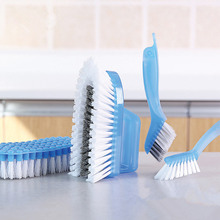 4pcs Bendable cleaning brush Kitchen accessories magic bathroom corner tile tools floor Multifunction
