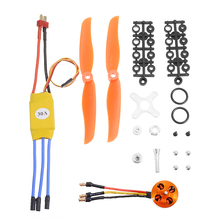 RC 2200KV Brushless Motor 2212-6 30A ESC Free Mount Propeller Servo for RC Fixed Wing Plane Helicopter jmt rc hexacopter aircraft electronic kit 700kv brushless motor 30a esc 1255 propeller gps apm2 8 flight control diy drone