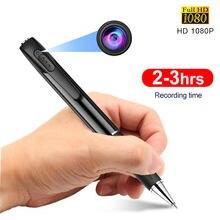 Mini câmera completa hd 1080p caneta câmera portátil micro dv gravador de voz de áudio e vídeo secreto ao ar livre gadgets filmadora com microfone