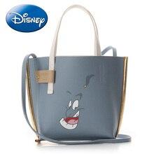 Disney Shoulder Bags Aladdin Cartoon Women Large Tote Bag Pu Lady Handbag Leisure Fashion Cosmetic Storage Travel Beach Backpack
