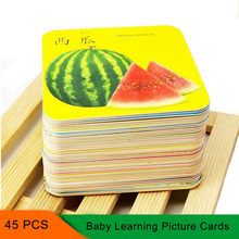 Bilingual Chinese English Books Children Games Cognitive Cards Toys Preschool Baby Word Cards Chinese Learning Picture Paper a new century chinese english dictionary microprinting version learning chinese tool books