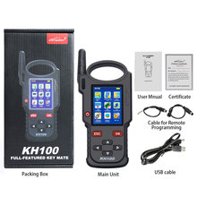 Lonsdor KH100 Hand Held Remote Smart Key Programmer used for identify chip access control key simulate