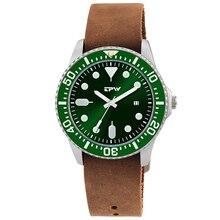 Military Business Watches Men Brand Luxury Sport Relogio Masculino Retro Design Leather Band Alloy Quartz Wrist Watch full grain