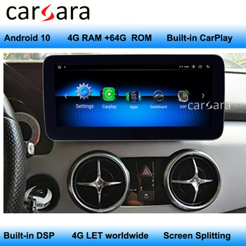 For Mercedes GLK Headunit Android X204 Navigation Car Video Sound Entertainment System Dashboard After-market Display image
