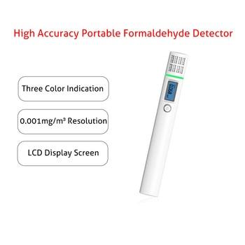 Lcd display gas detector analyzer tvoc sensor tester portable formaldehyde(hcho) detector hcho/tvoc air quality monitor