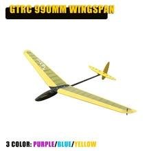 GTRC Mimi DLG 990 мм Летающий видеосамолет летательный аппарат с фиксированным крылом RC самолет для RC маленький подарок детям игрушки