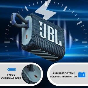 Image 3 - JBL GO3 اللاسلكية بلوتوث 5.1 المتكلم الذهاب 3 المحمولة للماء المتحدث المتحدثين في الهواء الطلق الرياضة باس الصوت الأصلي JBL رئيس