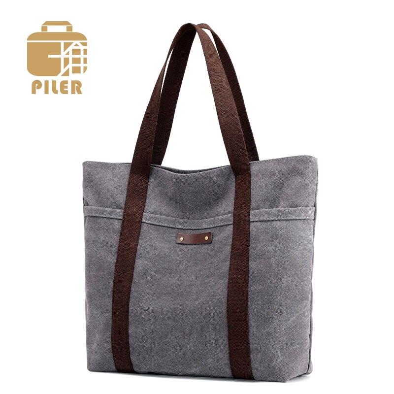 Messenger Canvas Tote Bag For Women Handbags Shoulder Bag Canvas Shopping Ladies Designer Fashion Hand Bag Casual Hobo Shoulder