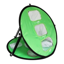 Hot sale Golf Swing Net Trainer Pop UP Practice Chipping Pitching Cages Mats Portable Drop Ship