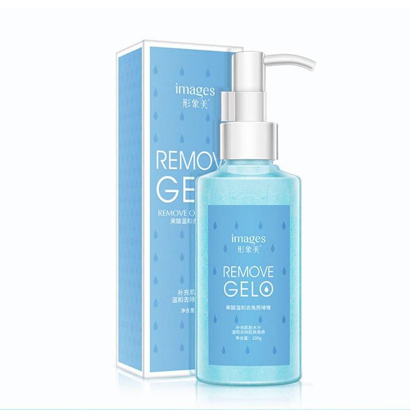 Deep Clean Acne Blackhead Remove Whitening Face Cleanser Fruit Acid Peeling Gel Facial Exfoliating Peeling Scrub New