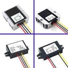 Convertidor de potencia de 24 V a 12 V 1A 2A 3A 5A 8A 10A 12A 15A 20A 30A suministros de energía convertidor de potencia del coche DC convertidores impermeable