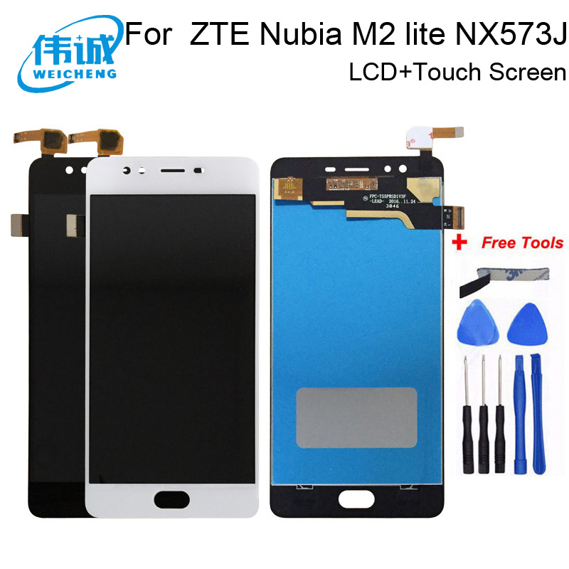 WEICHENG For ZTE Nubia M2 lite NX573J LCD Display and Touch Screen Assembly Phone Accessories For ZTE Nubia M2 lite +Free Tools(China)