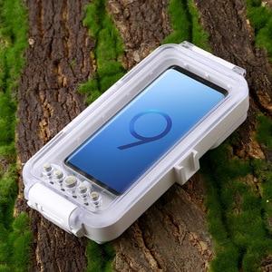 Image 2 - Cadiso 45 m/147ft Su Geçirmez Dalış Durumda Konut Fotoğraf Video Alarak Sualtı Kapak için Galaxy Huawei Xiaomi Tipi tip c Portu