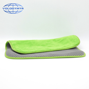 Image 2 - Microfiber Towel Car Cleaning Towel Auto Detailing Tools 40*40cm with Mesh for Car Clean Drying Detail Carwash Washing