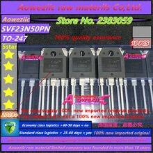 Aoweziic 2019 + 100 ٪ جديد المستوردة الأصلي SVF23N50PN SVF23N50 23N50 TO 247 FET 23A 500 فولت ل MOS آلة لحام