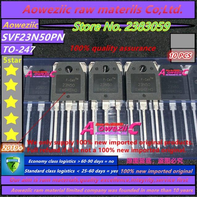 Aoweziic 2019 + 100% novo importado original svf23n50pn svf23n50 23n50 a 247 fet 23a 500 v para a máquina de solda mos