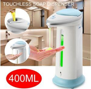 Автоматический диспенсер для жидкого мыла, 400 мл, умный датчик, бесконтактная Чистка рук, ванная комната, дезинфицирующее средство для мытья...