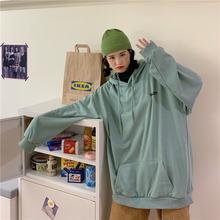 Женская толстовка с капюшоном Повседневный пуловер длинным рукавом