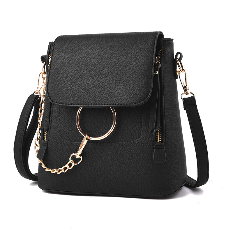 2019 New Women Messenger Bags Fashion Women Shoulder Crossbody Bag Casual Knapsack PU Leather Back Pack Female Rucksacks