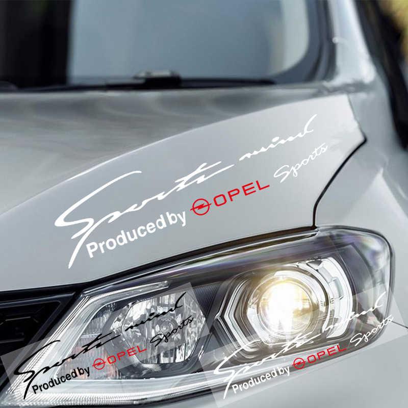 Autocollant de sourcil de lampe réfléchissante de décalque de course de Sport de vinyle de voiture pour Opel Astra H G J Insignia Mokka Zafira Corsa Vectra C D