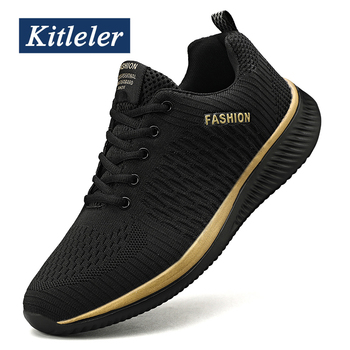 Fashion Men Sneakers Lightweight Casual Shoes Breathable Jogging Walking Tenis Masculino Zapatillas Hombre