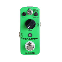 MOOER Digital Delay Guitar Pedal 3 Working Modes Mod/Normal/Kill Dry Effect Pedal Guitar Pedal MDL1 Repeater Guitar Accessories(China)